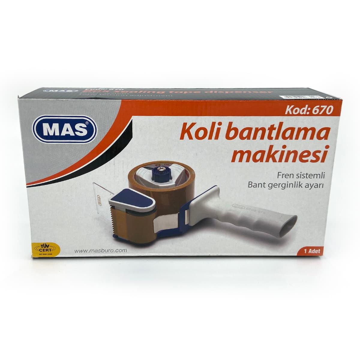 MAS 670 Koli Bant Makinesi