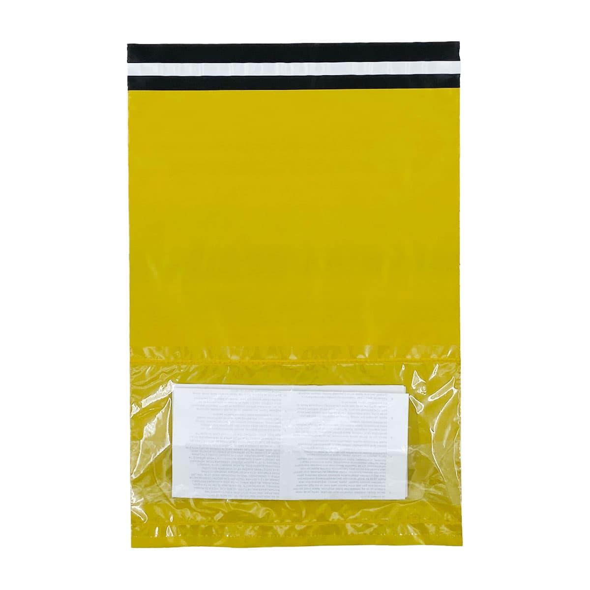 Sarı Renkli Kargo Poşeti